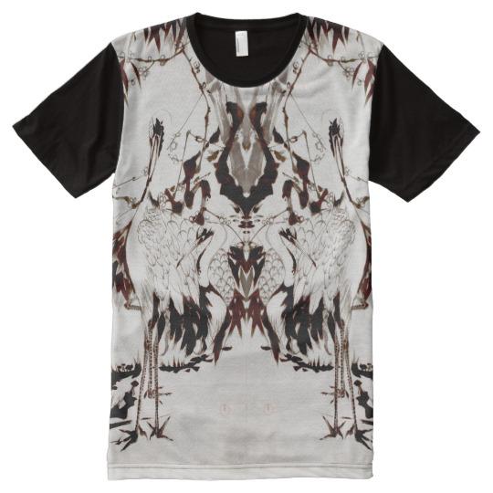 jakuchu's sumie t-shirt