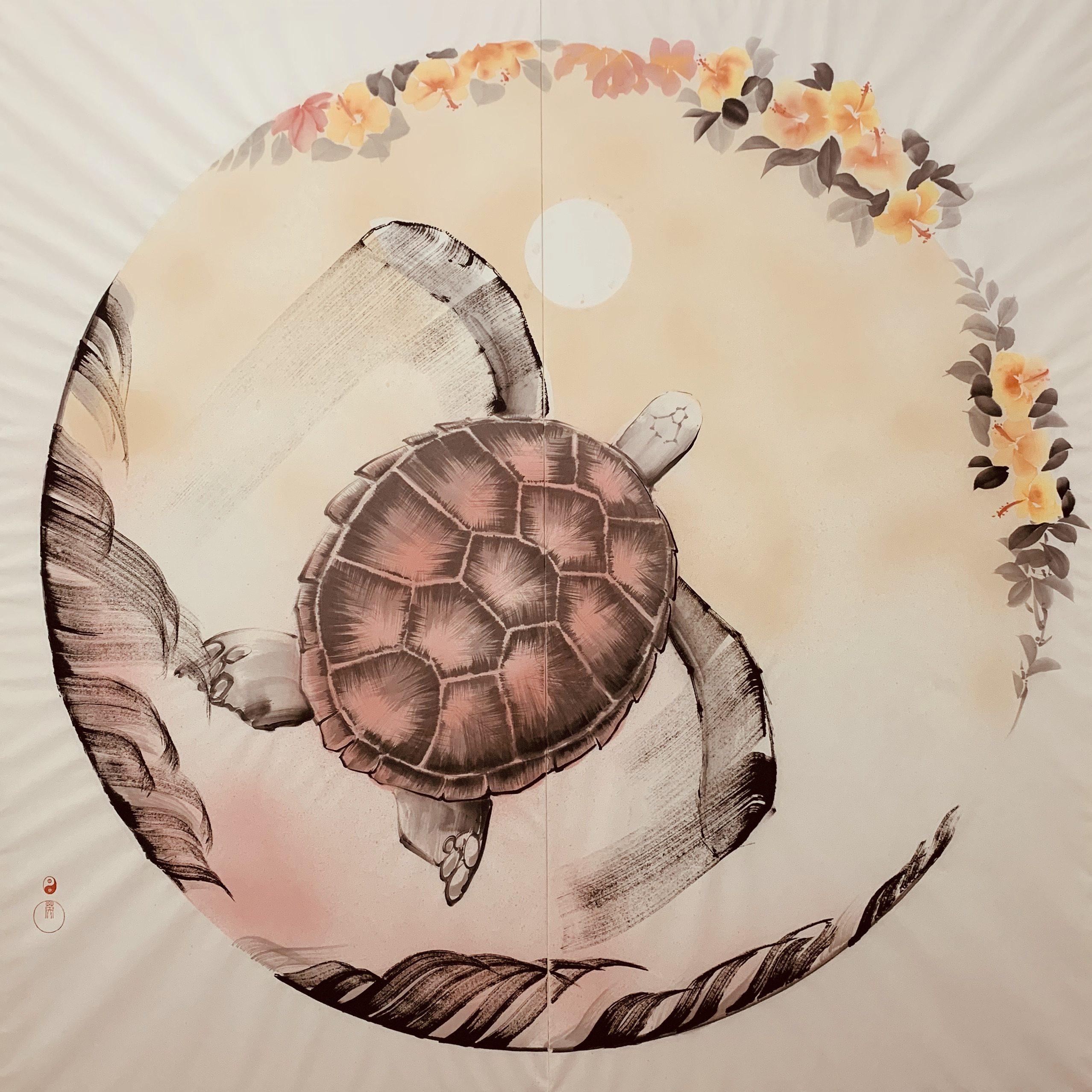 sea turtle by sumie